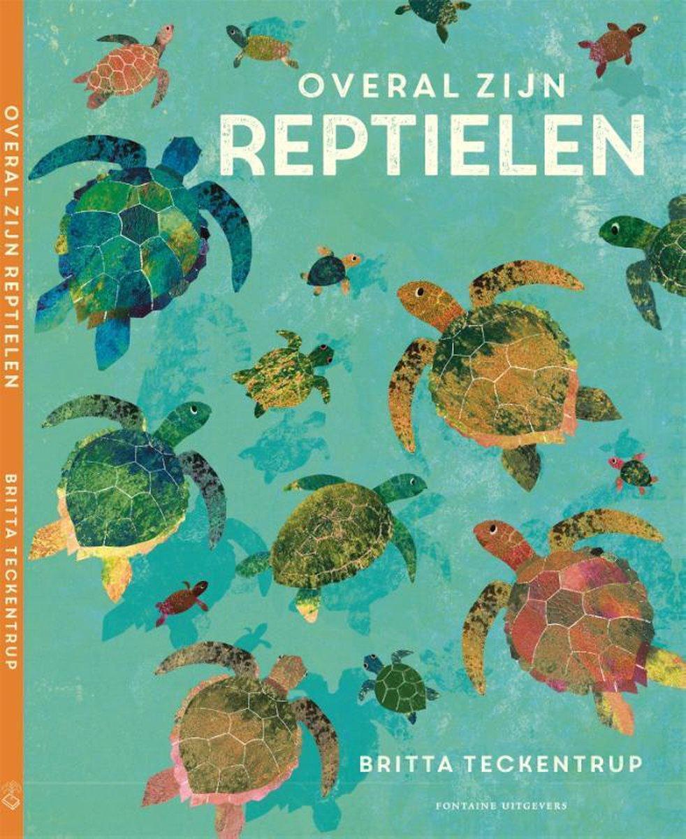 bol.com | Overal zijn reptielen, Vitataal Tekst En Redactie | 9789059567825 | Boeken