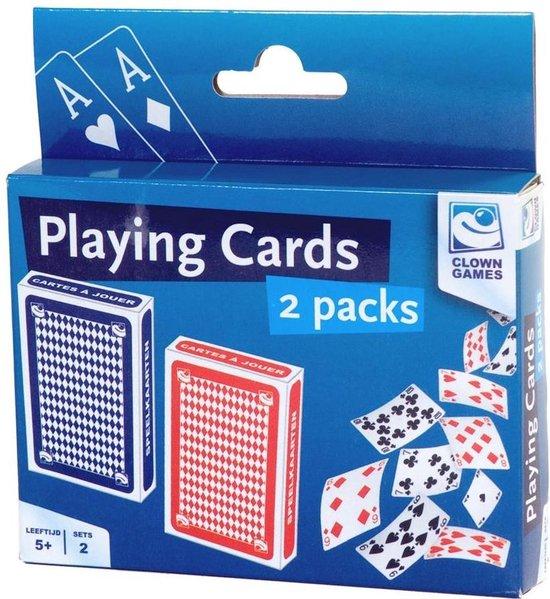 Afbeelding van het spel Clown Games Speelkaartenset 2 Stuks