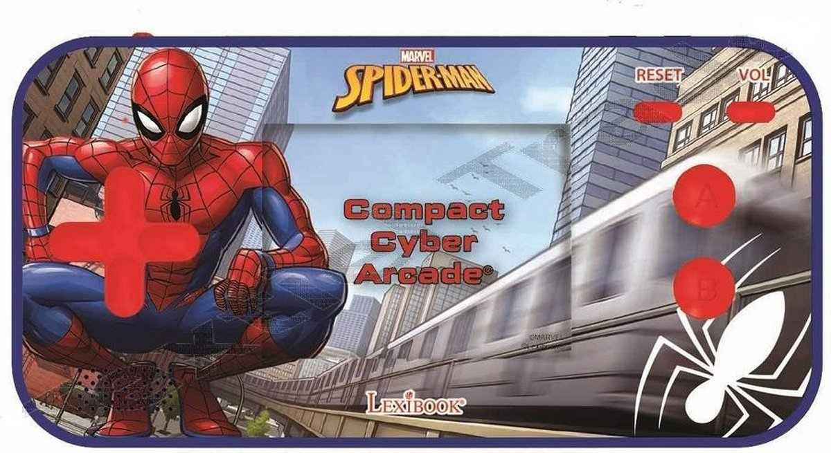 Spiderman Draagbaar elektronisch spel - cyberarcade