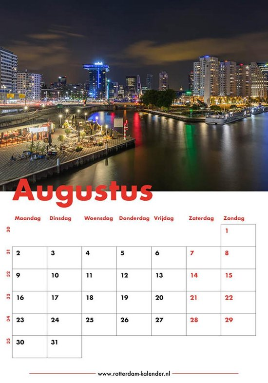 Rotterdam Kalender 2021 | MS Fotografie
