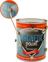 Magneetverf Magnetic Paint Extra Strong (1 liter - voor 2 m² oppervlakte) STERAANBIEDING - met GRATIS sterke Neodymium stermagneetjes