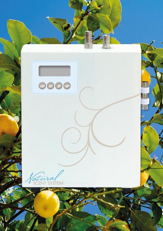 Natural Scent System geurverstuiver | geurvernevelaar voor etherische geuroliën | antibacteriële werking |Volautomatisch met weektimer.