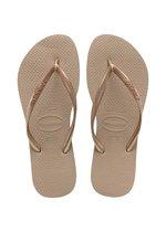 Havaianas Slim Dames Slippers - Rose Gold - Maat 37/38