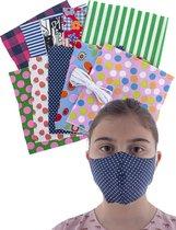 Kit om zelf mondmaskers / mondkapjes te maken - 10