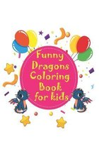 Funny Dragons coloring Book for kids