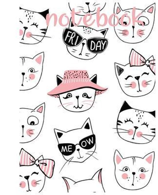 Notebook: cat lovers just love a cute and artistic cover design book for notebook