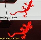 Auto Reflecterende Sticker , Waarschuwing Tape, Reflecterende Strips, Veiligheid Mark, hagedis - geel