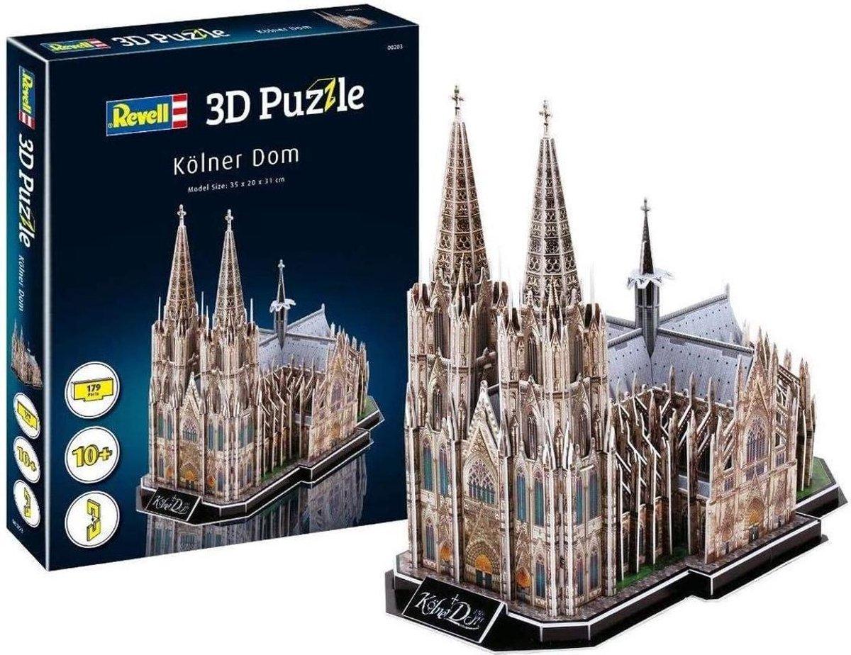 3D puzzel Köln (keulen) dom (179) 35 x 20 x 31 cm