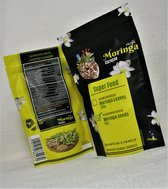 Moringa Zaden 50 gram- zaden -pitten- vegan- organic - biologisch- kwaliteit- immuunsysteem- gezond- powerfood - supplement - sport
