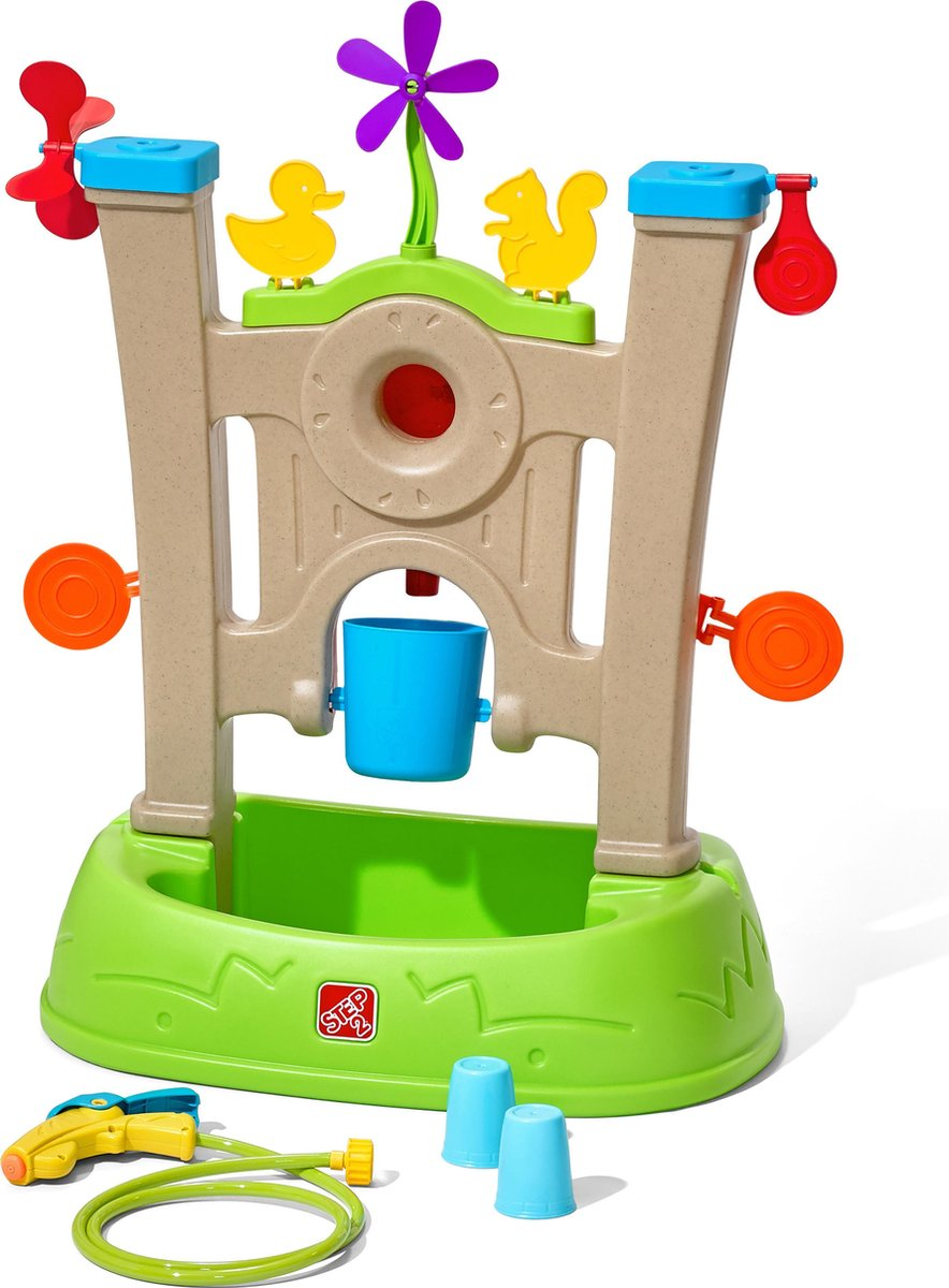 Step2 Waterpark Arcade - Waterspuit met doelwitten, bekers, spinners en meer