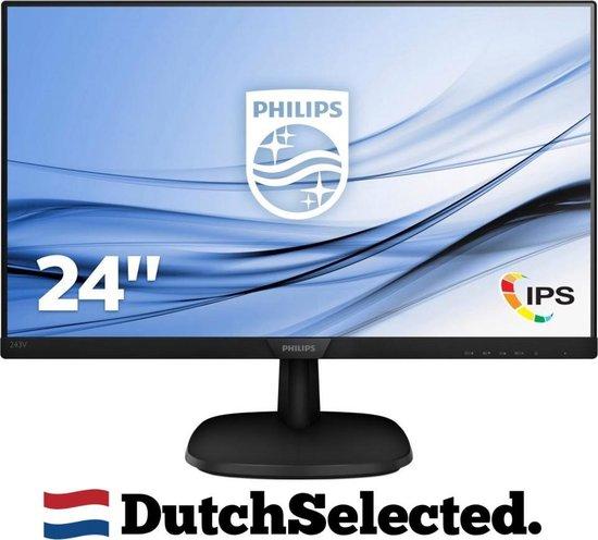 Philips 243V7QDSB V Line - Full HD IPS Monitor - 23,8'' Inch