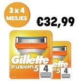 Gillette Fusion5 scheermesjes 4 stuks