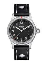 Hanhart Pioneer One Horloge Zwart, zwarte band