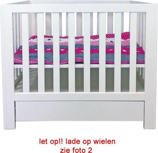 Baby box met lade op wiel - Baby park