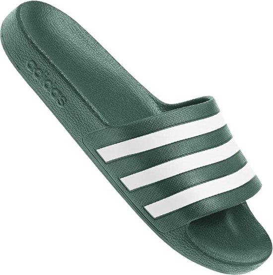 adidas - Adilette Aqua - Groen - Heren - Europese maat 37