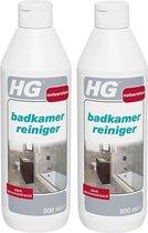 HG natuursteen badkamer reiniger - 2 Stuks !