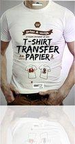 Afbeelding van 3BMT - Transfer papier voor textiel- print en strijk je ontwerp - set van 2