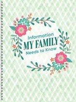 Information My Family Needs to Know Pocket Organizer
