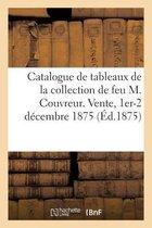 Catalogue de tableaux anciens, tableaux modernes, dessins