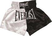 EVERLAST - Kickboks short - zwart/wit - maat M