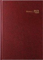 Brepols Agenda 2021 • Bremax 1 • Santex • A4 • Bordeaux
