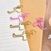 paperclips  Flamingo 8 stuks