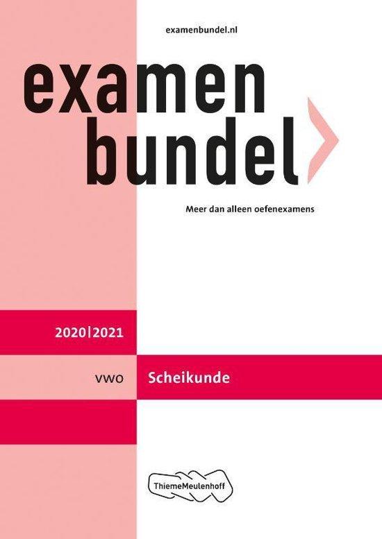Boek cover Examenbundel vwo Scheikunde 2020/2021 van  (Paperback)