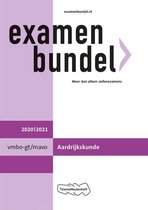 Boek cover Examenbundel vmbo-(k)gt/mavo Aardrijkskunde 2020/2021 van  (Paperback)