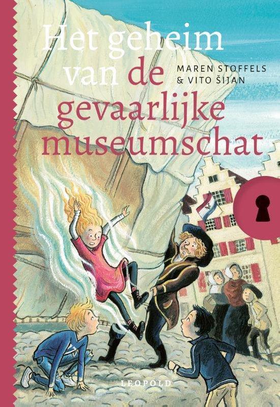 Boek cover Geheim van…  -   Het geheim van de gevaarlijke museumschat van Maren Stoffels (Hardcover)