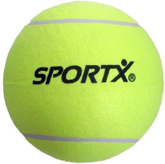 Afbeelding van het spel SportX Jumbo Tennisbal Xl Geel