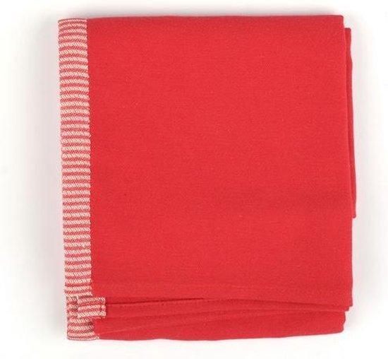 Keukendoek Bunzlau Castle Solid 53x60cm, rood - 6 pack