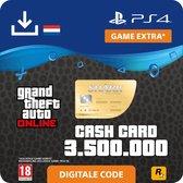GTA V - digitale valuta - 3.500.000 GTA dollars Whale Shark - NL - PS4 download
