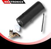 Diervriendelijke Ultrasone Anti-Blaf Apparaat - Alternatief Anti-Blafband - Inclusief batterij - Zwart