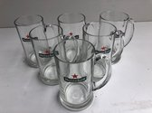 Heineken bierpul pul bierglazen 50cl doos 6 Glazen