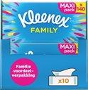 Kleenex tissues - Family Box - Voordeelverpakking - 10 stuks