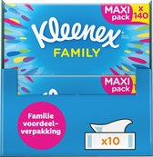 Kleenex Family Maxi tissues - 140 sheets x 10
