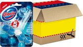 Glorix Power 5 Ocean Toiletblok - Voordeelverpakking - 9 stuks