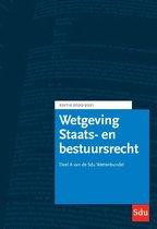 Educatieve wettenverzameling  -   Sdu Wettenbundel Staats- en Bestuursrecht. Editie 2020-2021