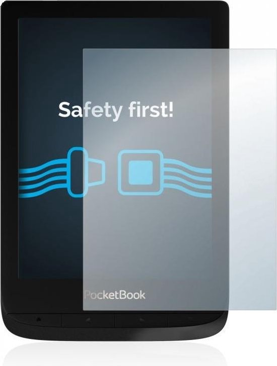 """Goodline® - Heldere Screenprotector Pocketbook Touch Lux 4 (6"""") - type: Clear Basic"""