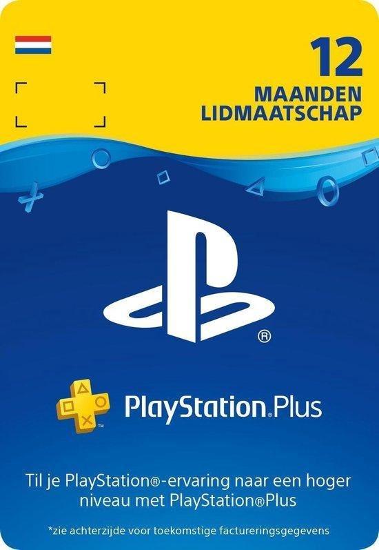 Afbeelding van Sony Playstation Plus: 12 Maanden Lidmaatschap - NL
