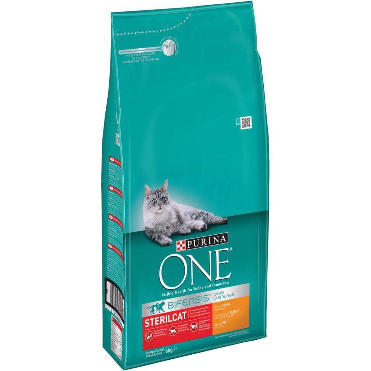 Purina ONE Sterilcat Adult - Kattenvoer Kip & Tarwe - 6kg