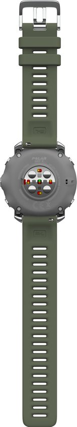 Grit X - Multisporthorlge - Groen - GPS - 47 mm - M/L bandje