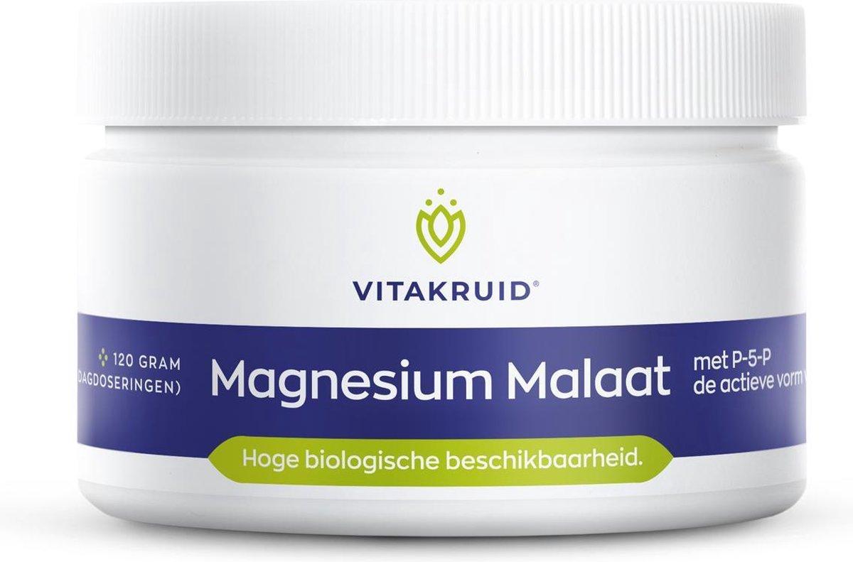 Vitakruid Magnesium Malaat 120 gram