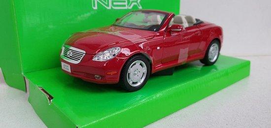 Afbeelding van Lexus SC 430, dark red 2001 speelgoed