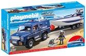 PLAYMOBIL City Action Politietruck met Speedboot - 5187