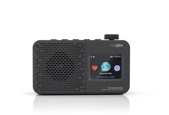Caliber HPG336DAB-DIR -  Draagbare dab+ en internet radio met accu - Zwart