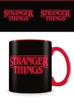 Stranger Things - Logo Gekleurde Mok