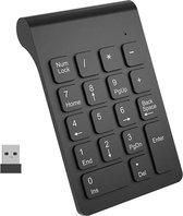 Draadloos Numeriek toetsenbord - wireless - Numpad - USB keypad - Zwart