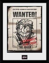 BATMAN COMIC - Collector Print 30X40 - Joker Wanted