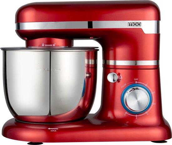 MOA SM1203NR Keukenmachine (Rood)